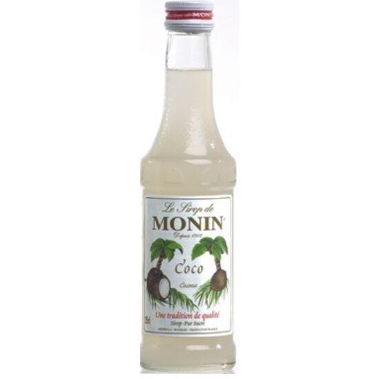 Monin Kókusz szirup (Coconut) 0,25L