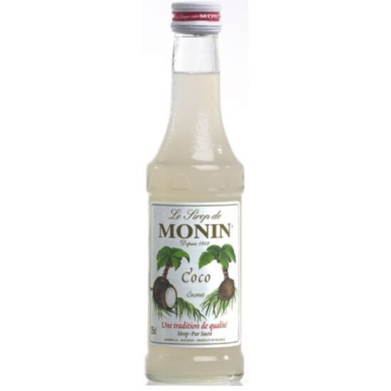 Monin Kókusz szirup (Coconut) 50ml