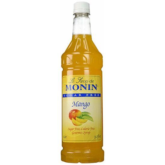 Monin cukormentes mangó szirup (sugar free mango) 1L