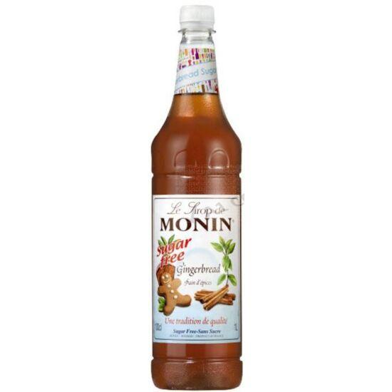 Monin Cukormentes Mézeskalács szirup (Gingerbread) 1L