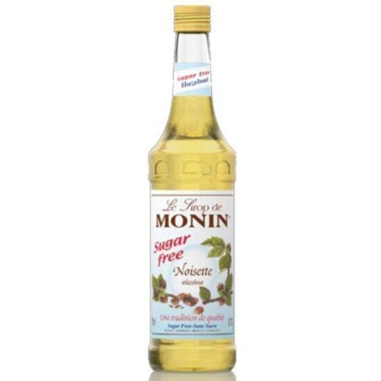 Monin cukormentes mogyoró szirup (sugar-free hazelnut) 0,7L