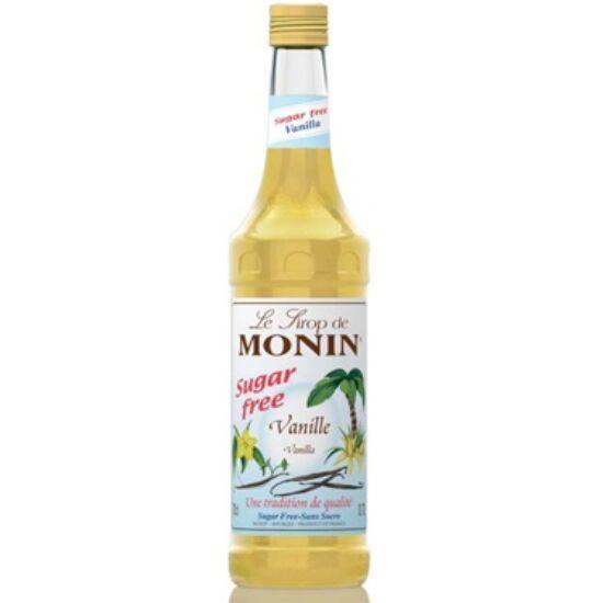 Monin cukormentes Vanília szirup (sugar-free Vanilla) 0,7L