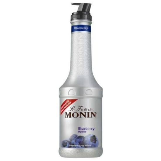 Monin Kék Áfonya püré (Blueberries) 1L