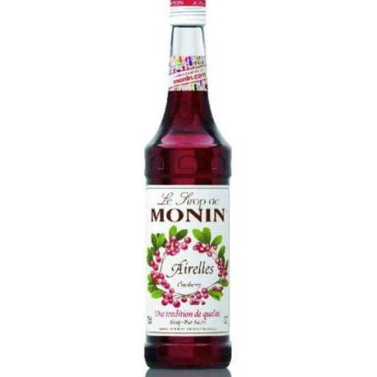 Monin Áfonya szirup (Cranberry) 0,7L