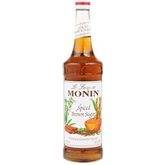 Monin Fűszeres Barnacukor szirup (Spiced brown sugar) 1L