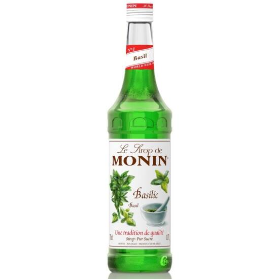 Monin Bazsalikom szirup (Basil) 0,7L