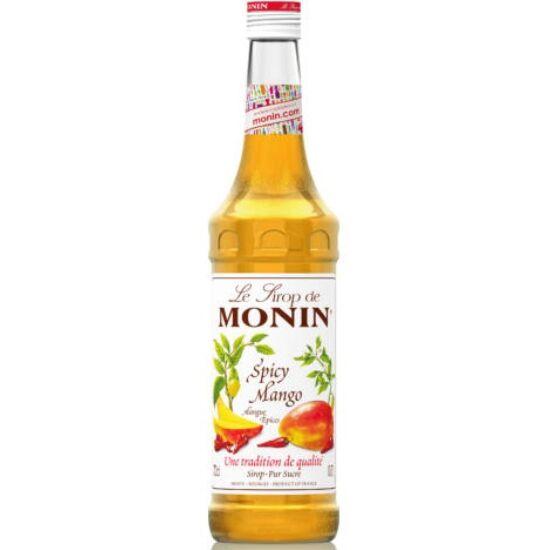 Monin Spicy Mangó szirup (Spicy Mango) 0,7L