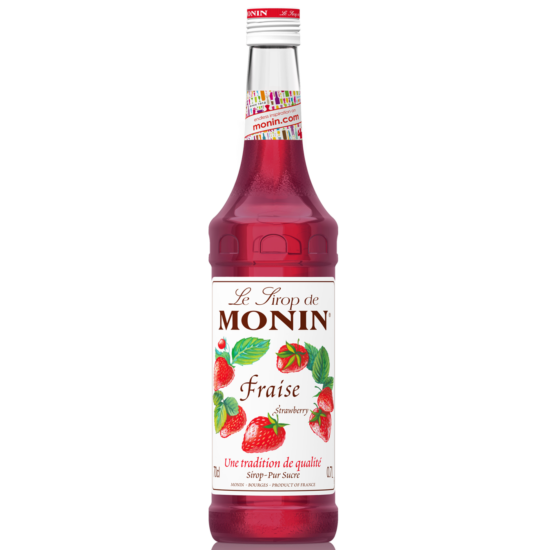 Monin Eper szirup (Strawberry) 0,7L