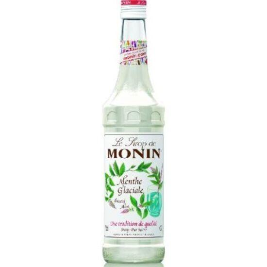 Monin Jeges Menta szirup (Frozen Mint) 0,7L