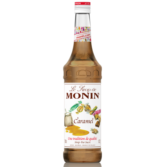 Monin Karamell szirup (Caramel) 0,7L