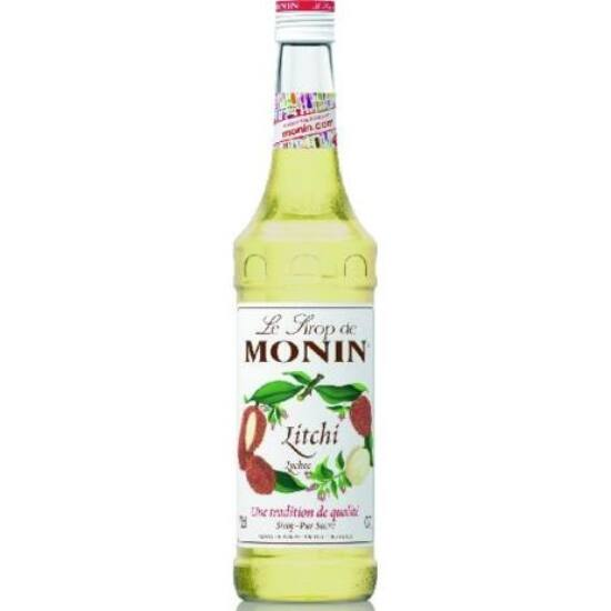 Monin Licsi szirup (Lychee) 0,7L