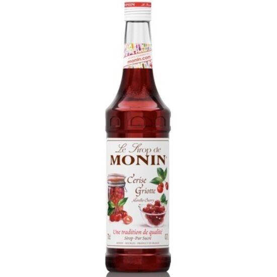 Monin meggy szirup (Morello cherry) 0,7L