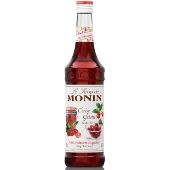Monin meggy szirup (Morello cherry) 0,7L