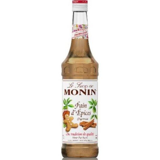 Monin Mézeskalács szirup (Gingerbread) 0,7L