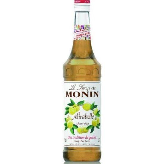 Monin Cseresznyeszilva szirup (Cherry Plum) 0,7L