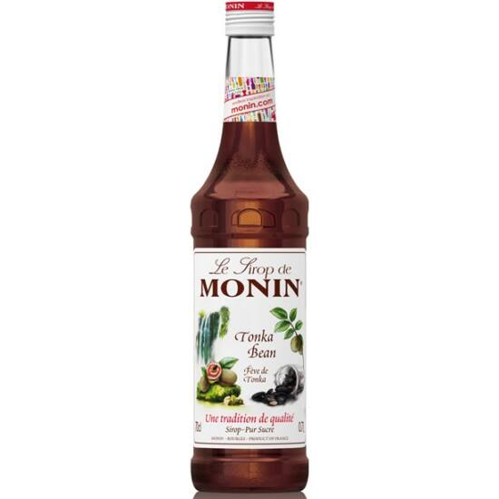 Monin Tonka Bab szirup (Tonka Bean) 0,7L