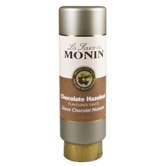 Monin Mogyorós Csoki szósz (hazelnut chocolate) 0,5L