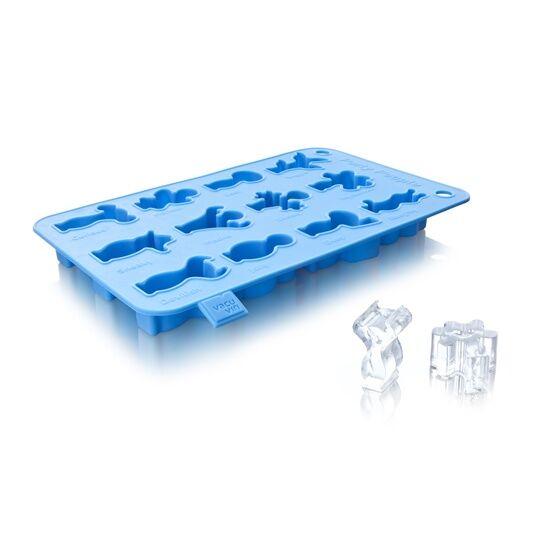 Vacu Vin jégkockakészítő szilikon kék